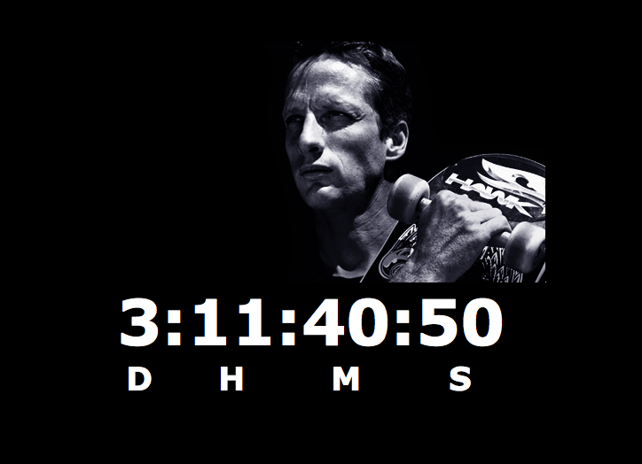 Tony Hawk's Pro Skater HD website reveals a mysterious countdown