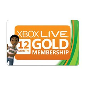 Great deal on Xbox Live Membership