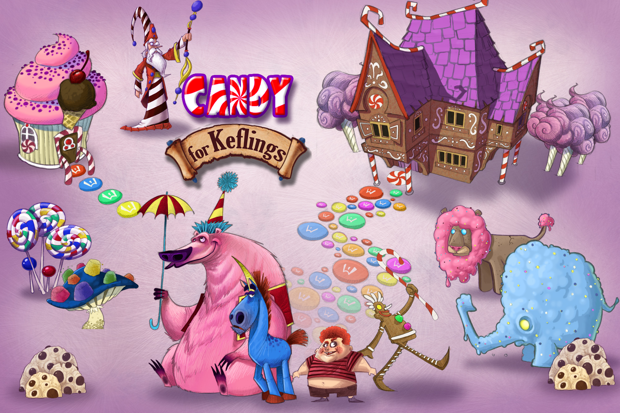 Candy for Keflings gets some sweet new screenshots