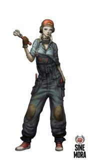 Sine Mora's third hero: a female rabbit who knows how to use a wrench