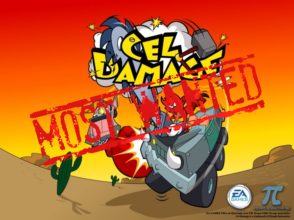 XBLA's Most Wanted: Cel Damage