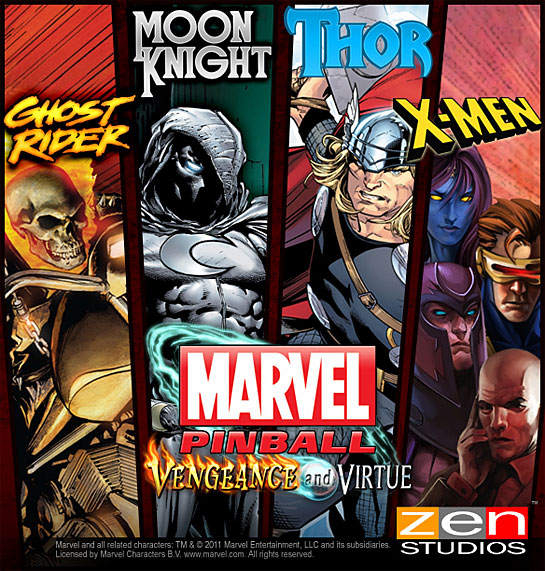 Marvel Pinball: Vengeance and Virtue review (XBLA DLC)