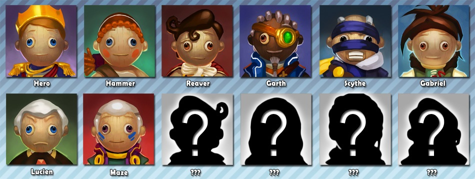 Fable Heroes adds a-Maze-ing character to roster