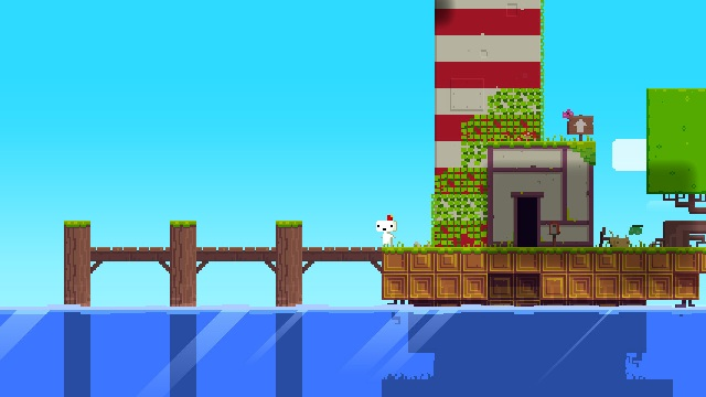 Footage shows off full Fez GDC demo