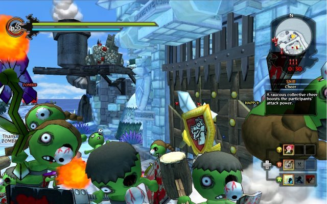 Happy Wars is the pizza to Call of Duty's steak