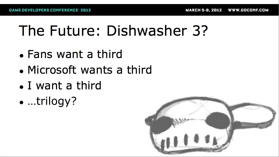 James Silva of Ska Studios hints at Dishwasher 3