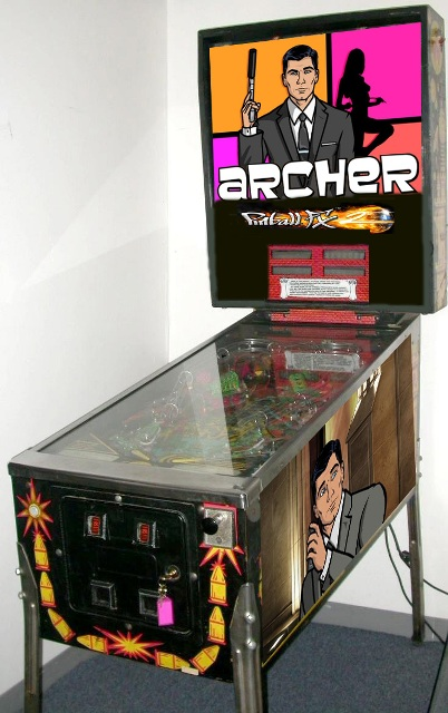 Archer getting his own Pinball FX2 table?