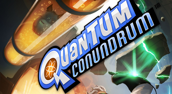 Quantum Conundrum switching dimensions on July 11