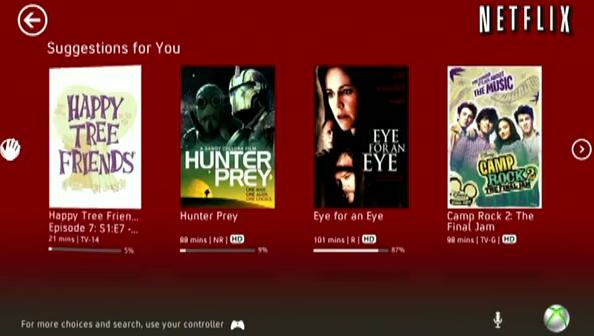 Netflix receives Kinect support in new update