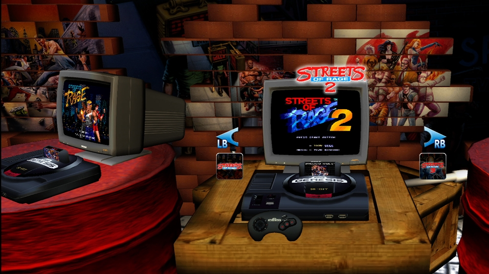 Sega Vintage Collections: Streets of Rage and Golden Axe info leak on Marketplace