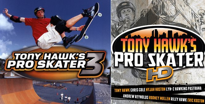 First DLC for Tony Hawk's Pro Skater HD coming from THPS3