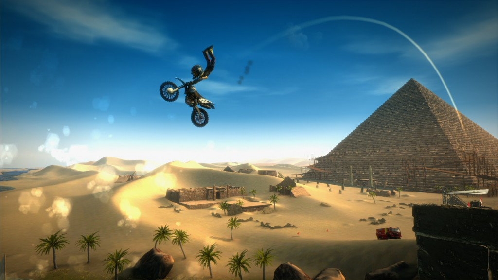 Avatar Motocross Madness gameplay shows big air and tricks galore