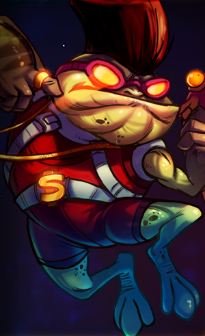 Awesomenauts Guide – Froggy G