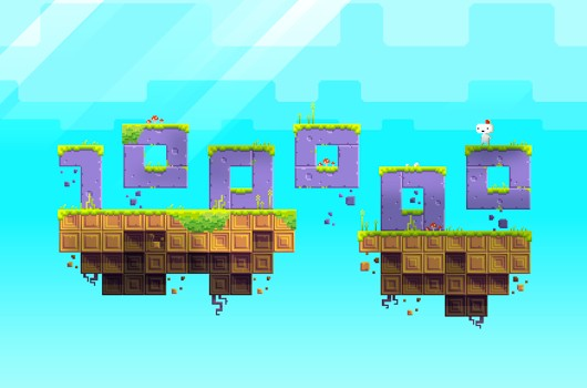 Fez's dimension-shifting moved 100,000 copies