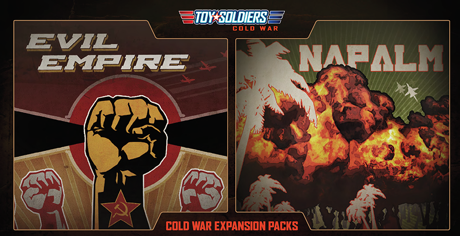 Toy Soldiers: Cold War Napalm and Evil Empire review (XBLA DLC)