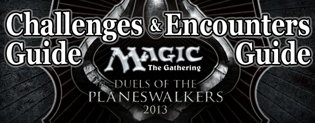Magic: the Gathering Duels of the Planeswalker 2013 – Encounters Guide