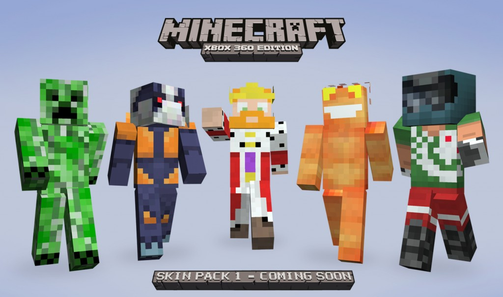 Minecraft Skin Pack 1 will release alongside 1.7.3 update