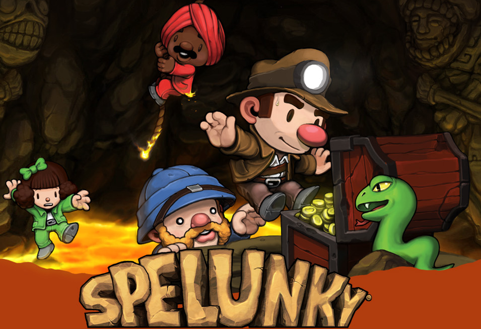 Sunday Night Streaming: Spelunking in Spelunky