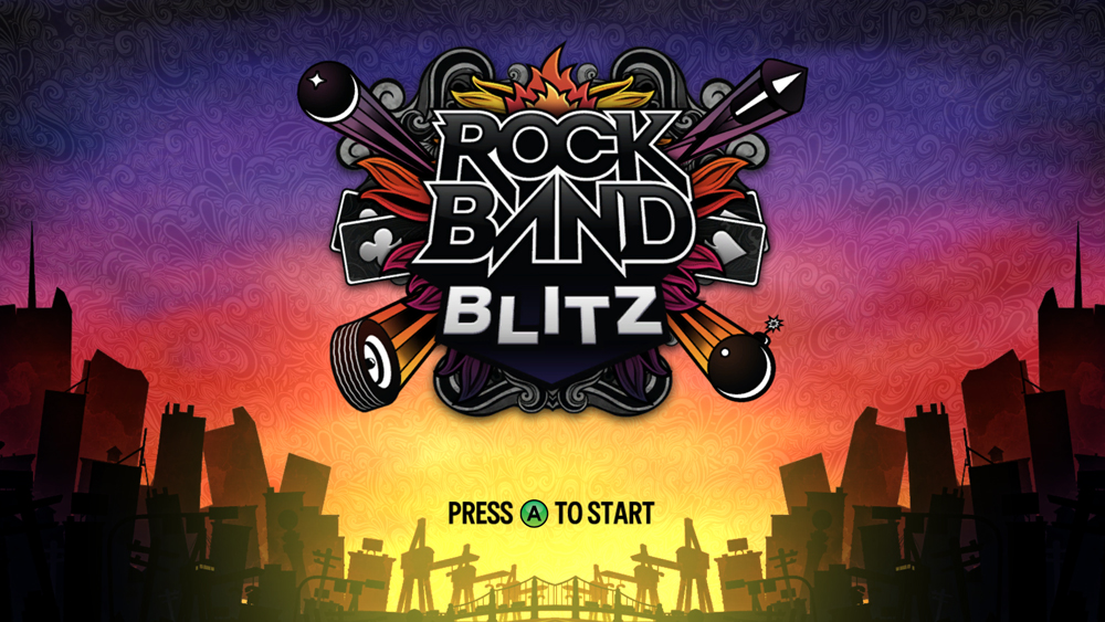 Rock Band Blitz info sheet