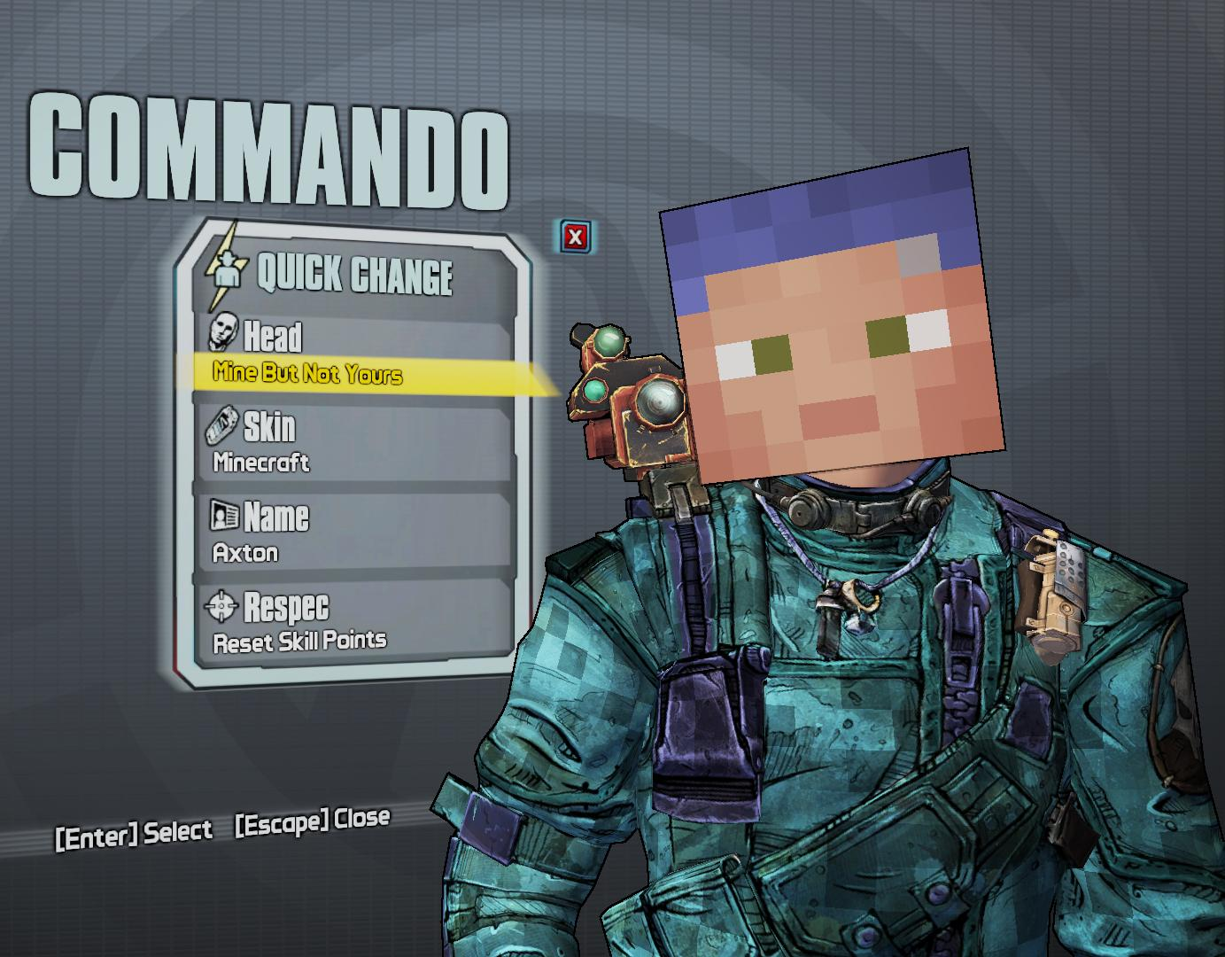 Get your Minecraft on in Borderlands 2