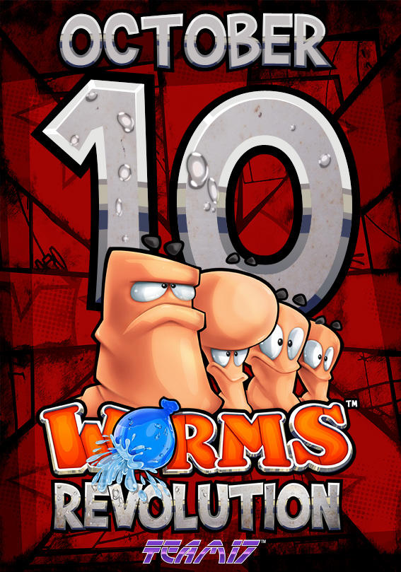 Worms Revolution to be released October 10th