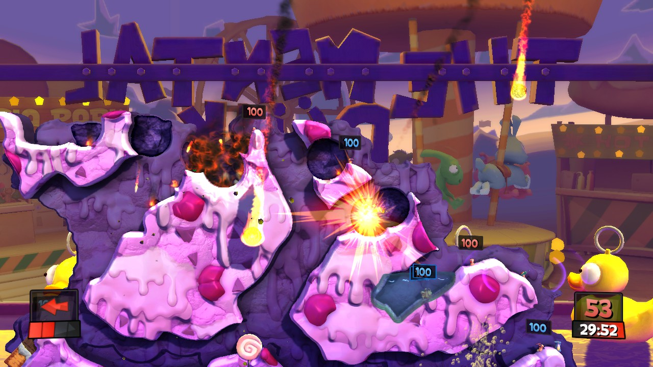 Worms: Revolution Funfair Pack DLC released