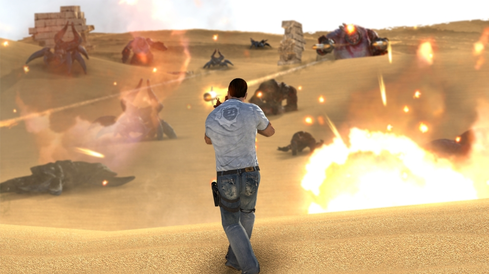 Serious Sam 3: BFE to release in two halves on XBLA