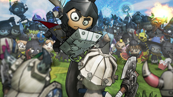 Happy Wars update looks to improve matchmaking