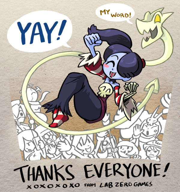Skullgirls hits Squigly DLC crowdfunding goal in under 24 hours