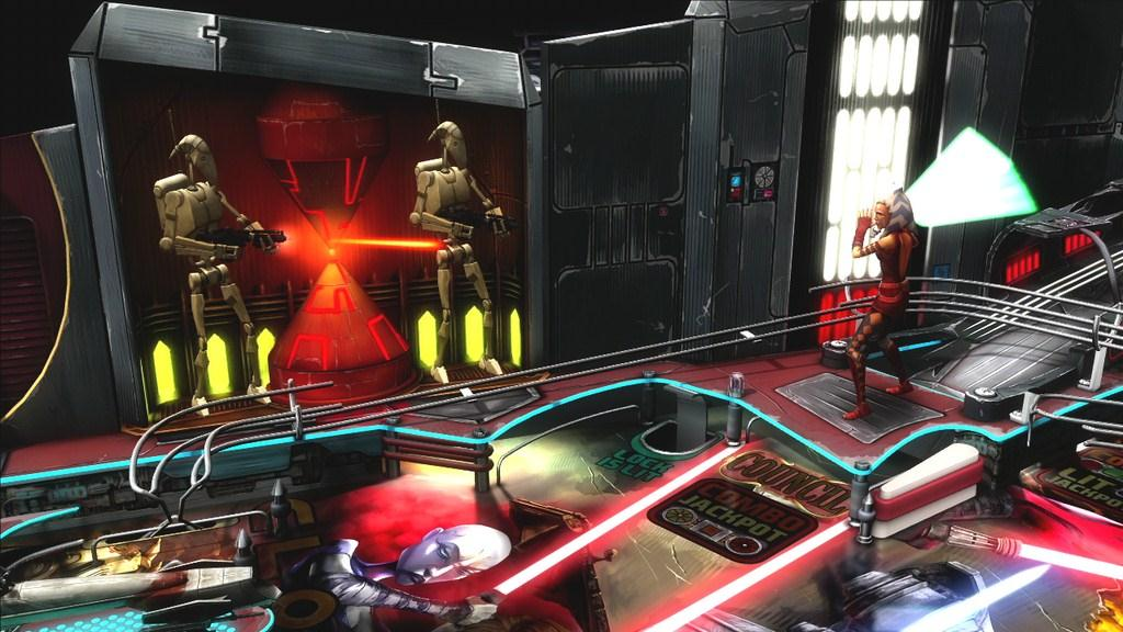 Star Wars Pinball The Clone Wars trailer