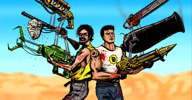 Serious Sam's Nathan Fouts loves 'crazy-ass guns'