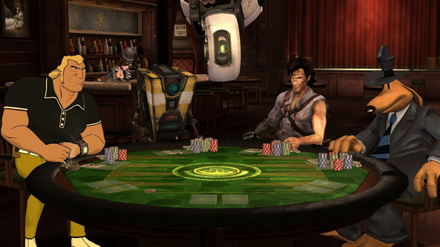 Poker Night 2 is chock-full of unlockables