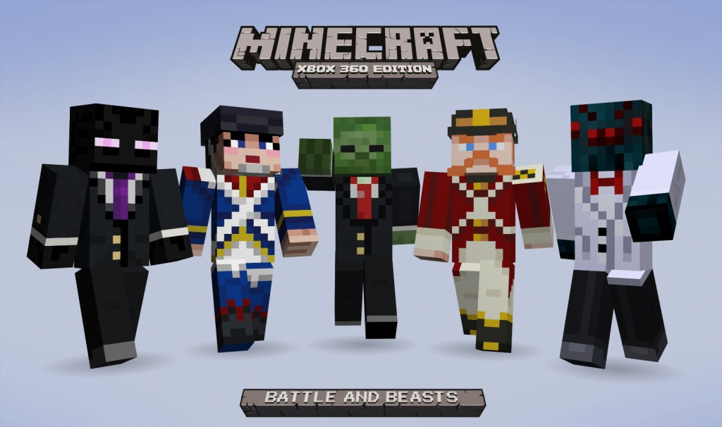 New Minecraft skin pack coming soon