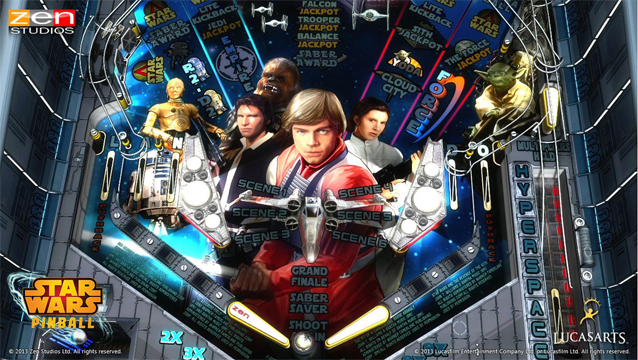 May the fourth bring you savings on Star Wars Pinball