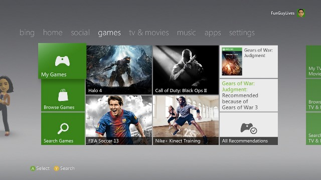 Xbox Live Marketplace rebranded to Xbox Games Store