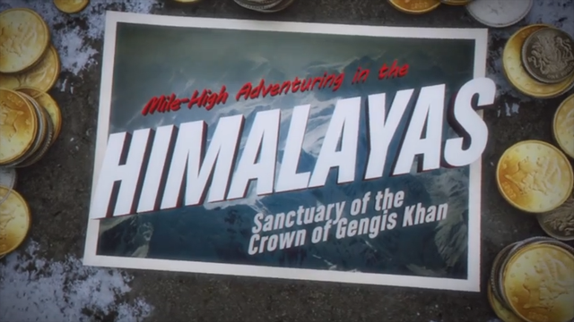 Ducktales Remastered sends a postcard from the snowy Himalayas