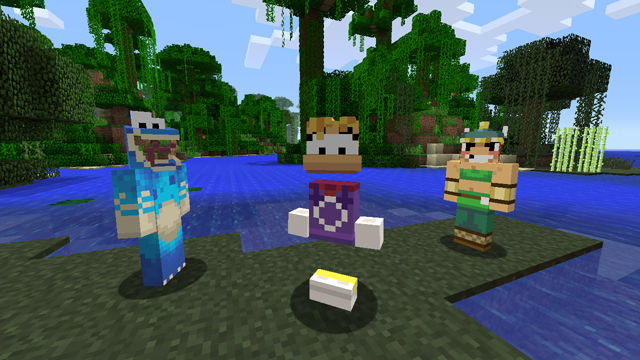 Minecraft: Xbox 360 Edition introduces game favorites with Skin Pack 5