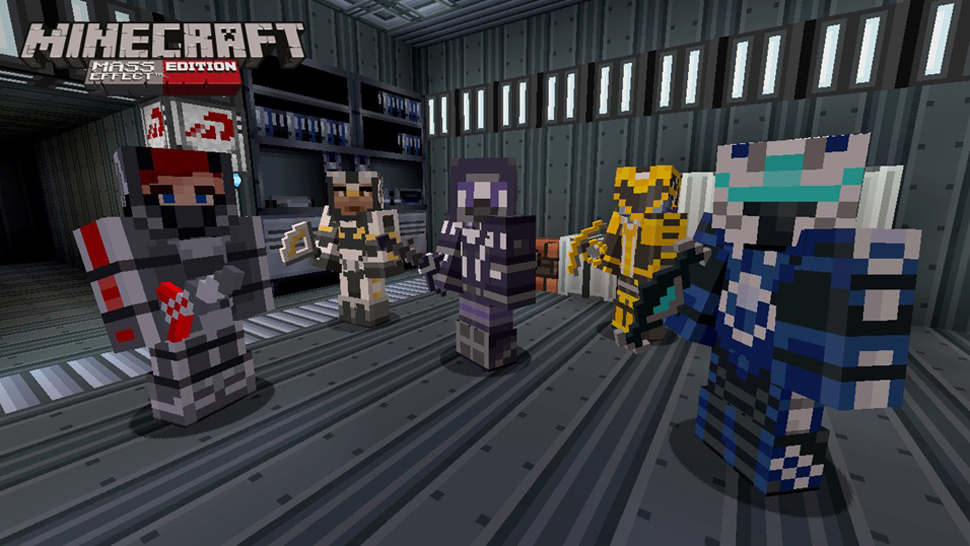 Minecraft: Mass Effect Edition coming tomorrow
