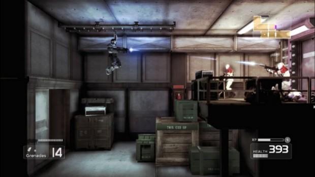 Shadow Complex Gunfire