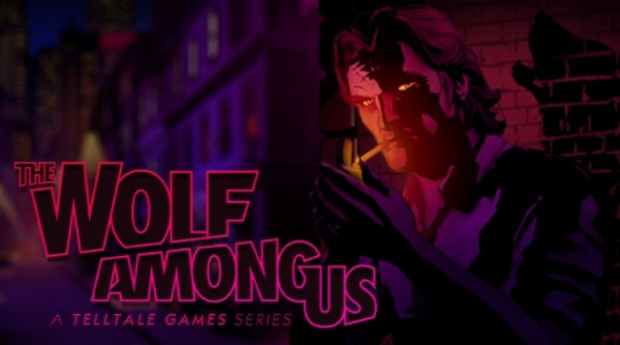 The Wolf Among Us Cover Art
