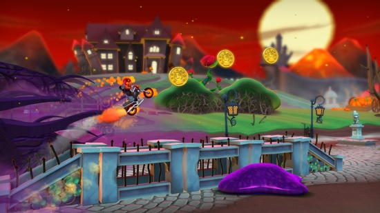 Joe Danger 2 gets Undead Movie Pack