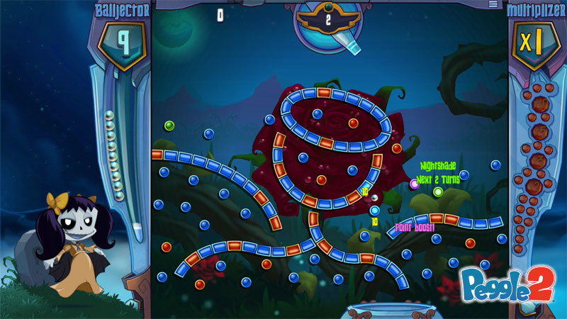 Peggle 2 videos showcase masters new and old