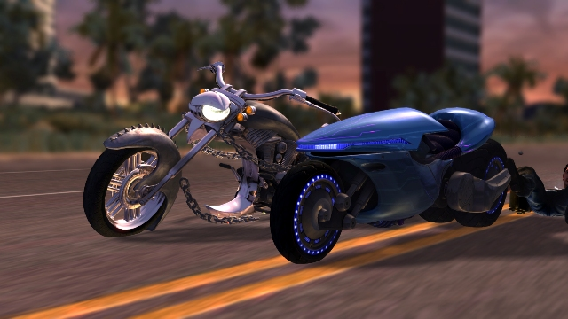 LocoCycle is a 'different' game for a new console — and an old one