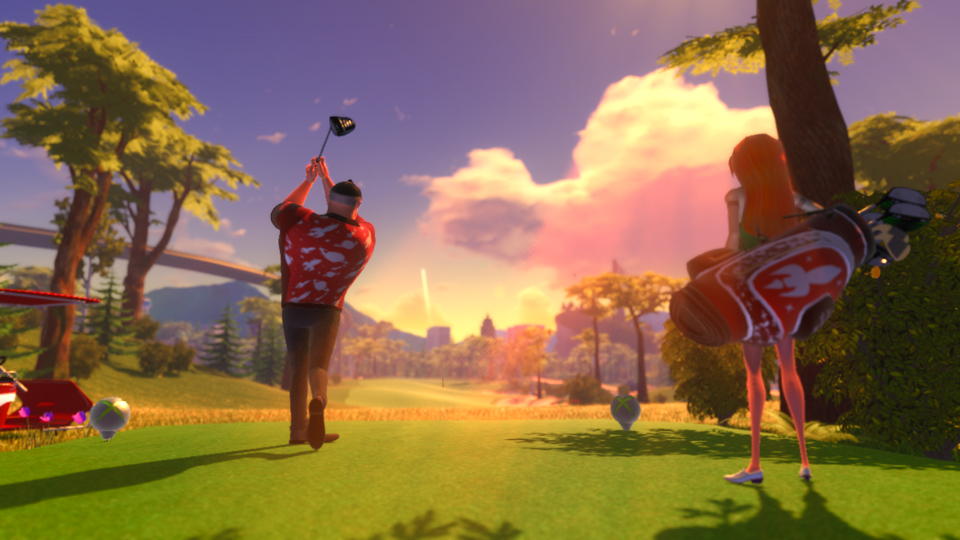 Powerstar Golf Course Coyote Canyon DLC revealed