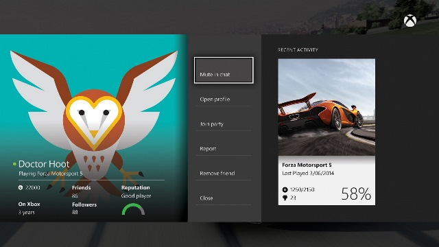 Xbox One March system update preview