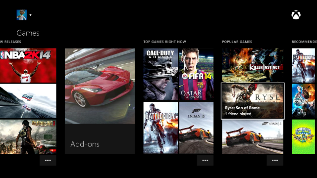 Xbox One Dashboard controller navigation to be made easier