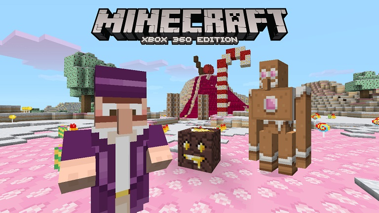 Minecraft Candy Texture Pack out now