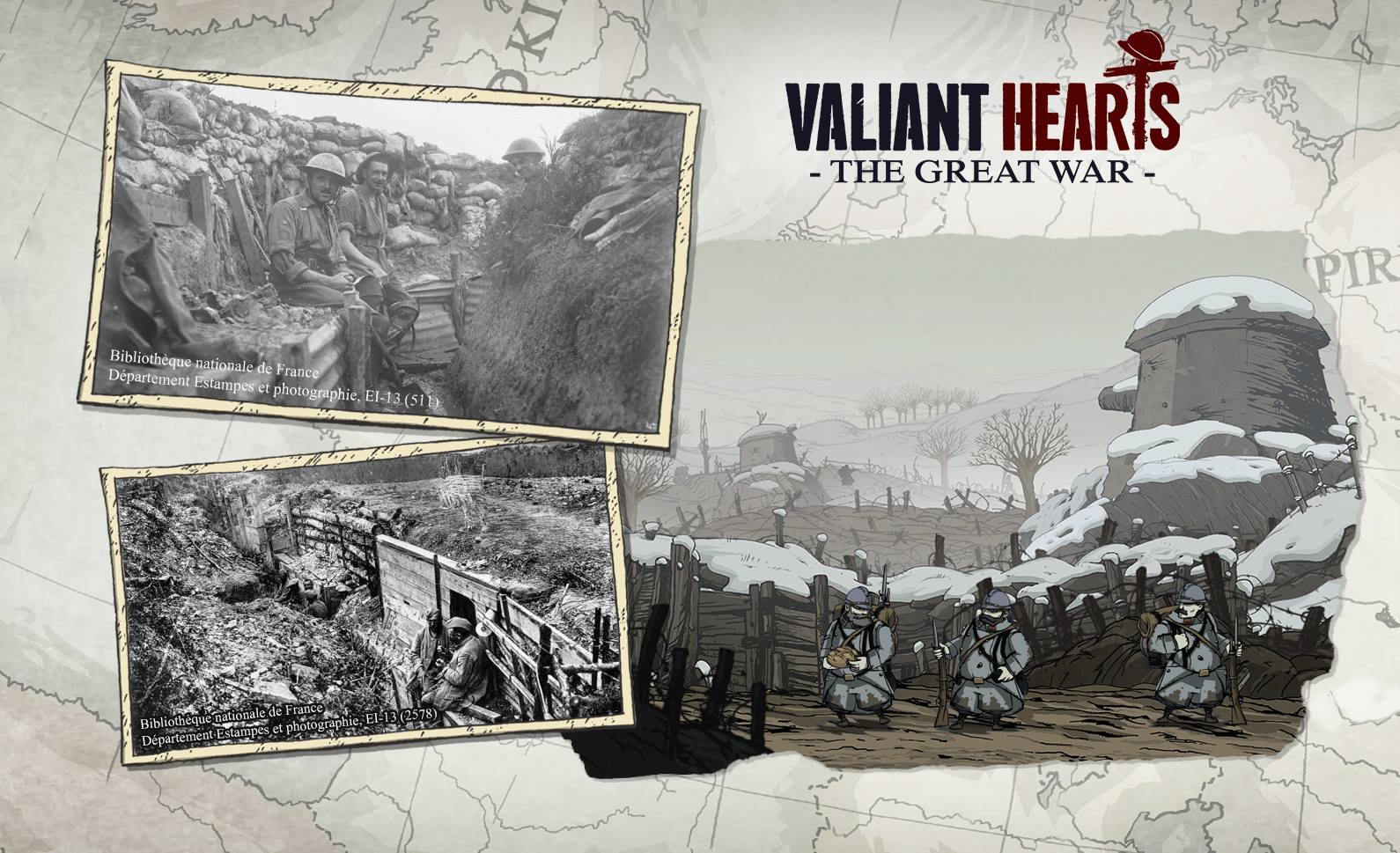 Valiant Hearts: The Great War Trailer and release date