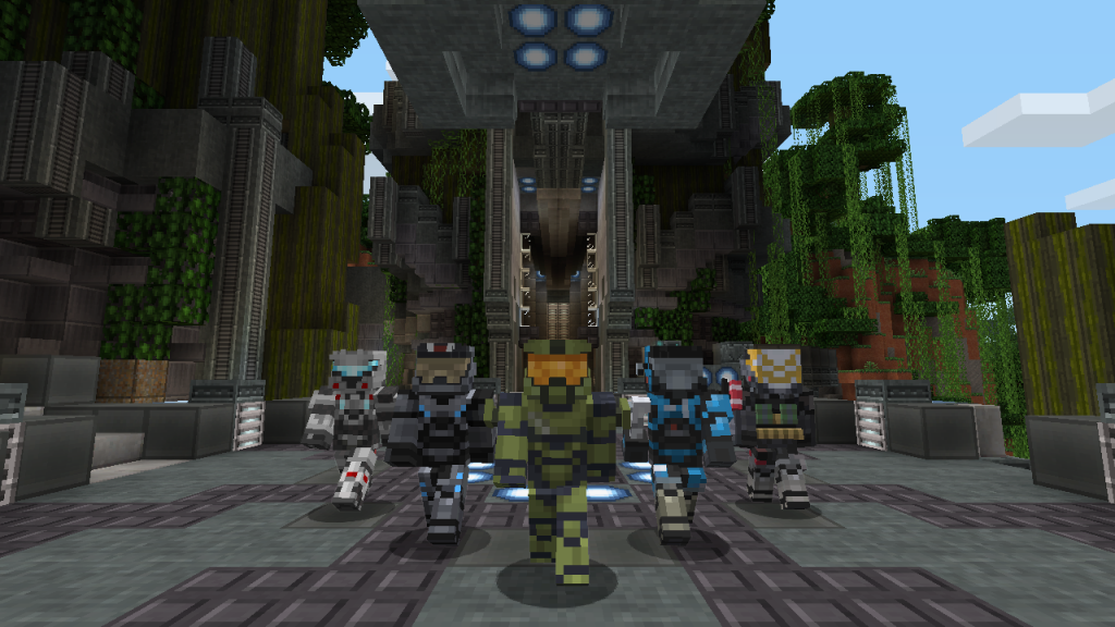 Halo Mash-Up Pack for Minecraft