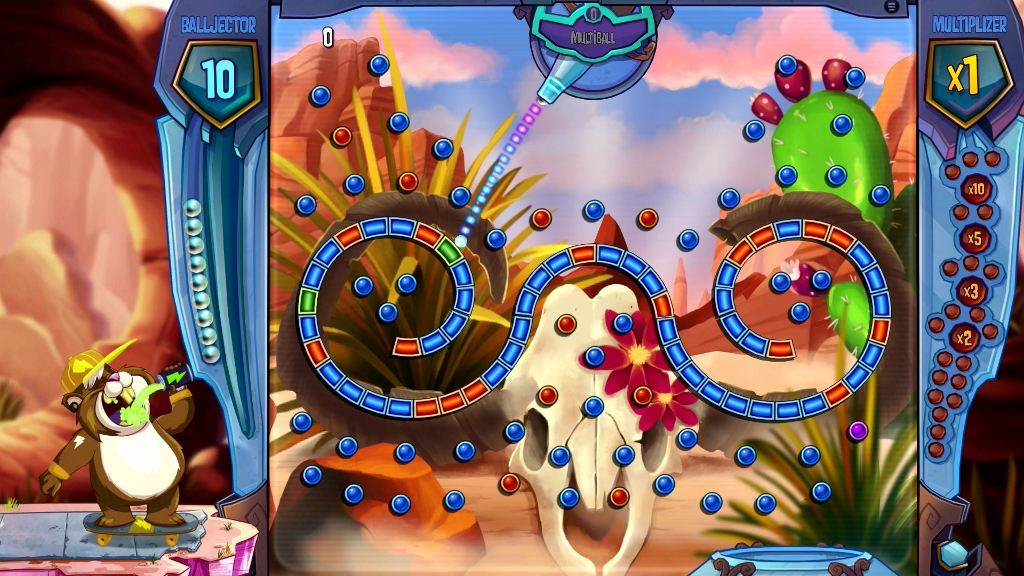 Jimmy Lightning arrives in Peggle 2 DLC